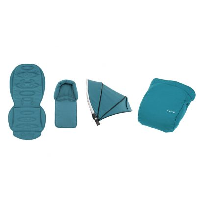 Deep Topaz Oyster colour pack and seat