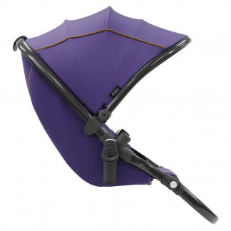 egg stroller tandem seat gothic purple