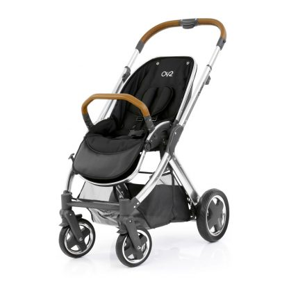 Oyster 2 stroller mirror chassis and tan handle