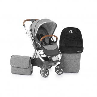 BabyStyle Oyster 2 stroller in special edition Wolf Grey
