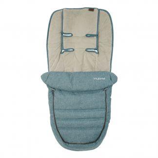 Hybrid stroller footmuff
