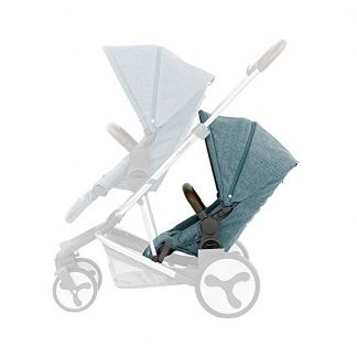 Mineral Blue Hybrid stroller tandem seat accessory